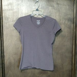 6 for $15/Brown V-Neck Tee
